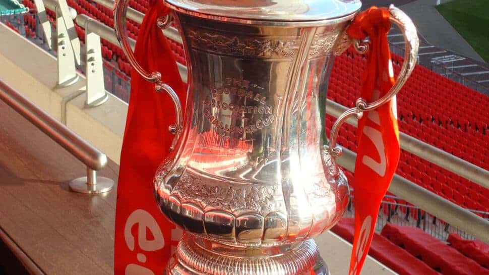 FA Cup before Finals in Wembley