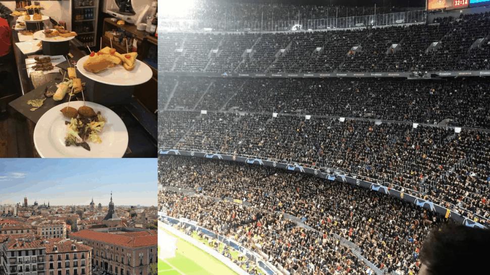 spanish la liga tickets food stadium city