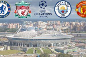 Premier League Clubs in the 2021-22 UEFA Champions League