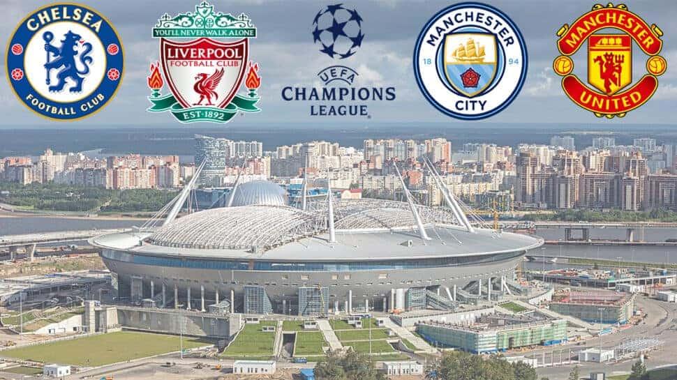 Premier League teams in the 2021-22 Champions League
