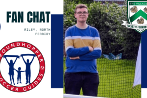 Latest English Soccer Fan Chat: Riley of North Ferriby FC