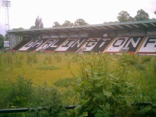 The former home of Darlington F.C.
