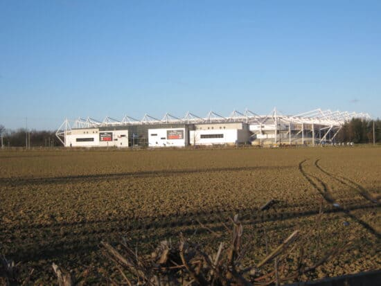 outside view of Darlington Arena