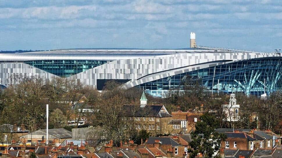 view of tottenham hotspur stadium