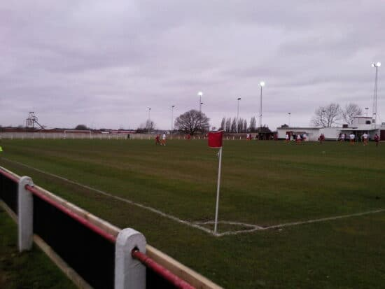 Oak Park, home of Walsall Wood FC