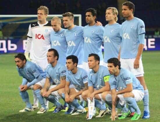 team pic of Malmö