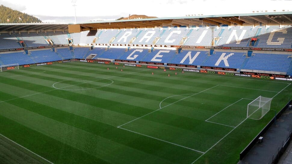 Cegeka Arena, home of Racing Genk.