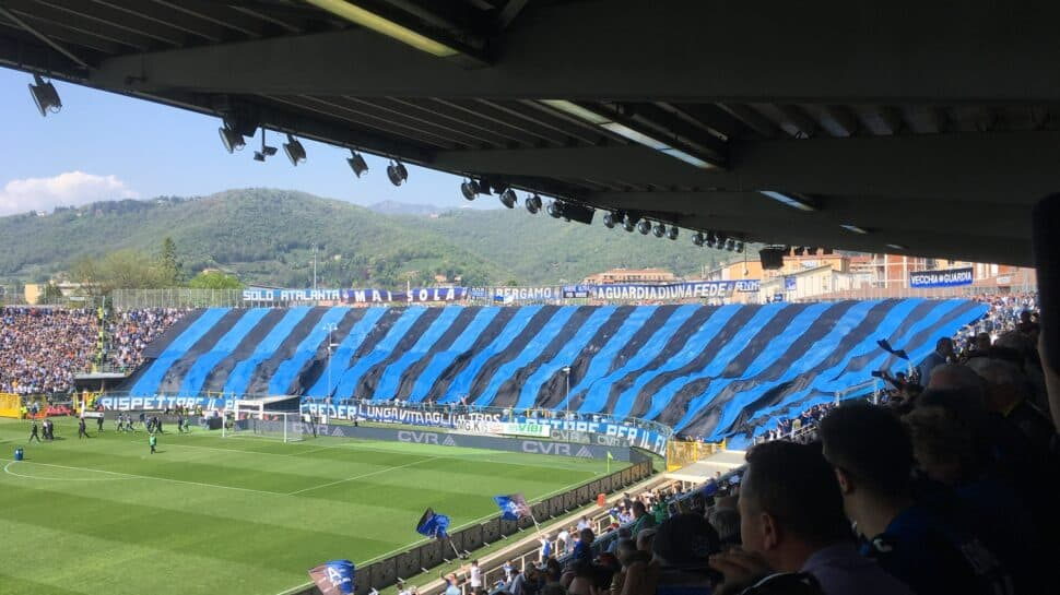 inside view of Gewiss Stadium