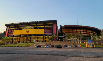 exterior of estadio monumental guayaquil ecuador