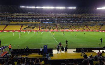 kickoff of world cup qualifier ecuador vs boliviz at estadio monumental