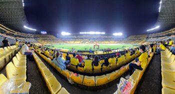 panorama inside estadio monumental